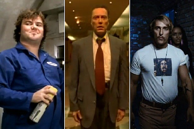 Jack Black, Christopher Walken, Matthew McConaughey