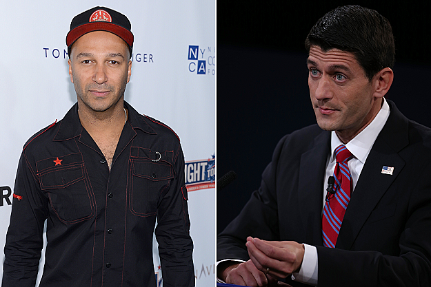 Tom Morello, Paul Ryan