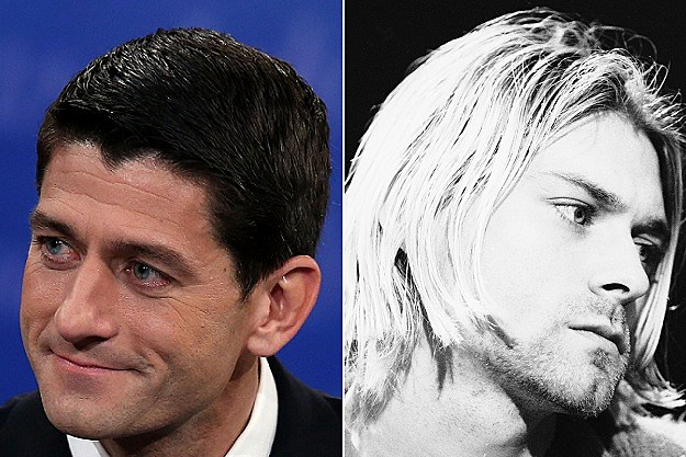 Paul Ryan, Kurt Cobain