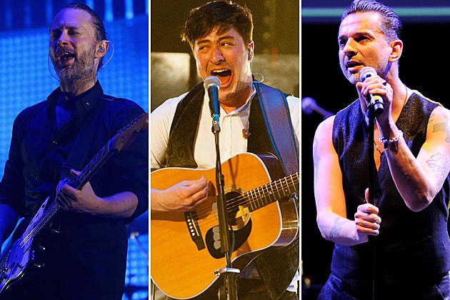 Thom Yorke / Marcus Mumford/ Dave Gahan