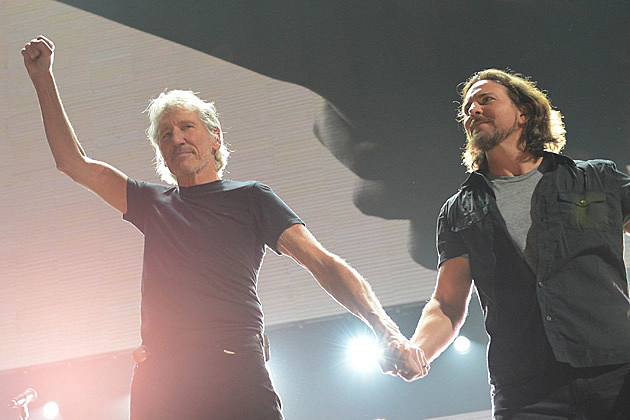 Eddie Vedder Roger Waters