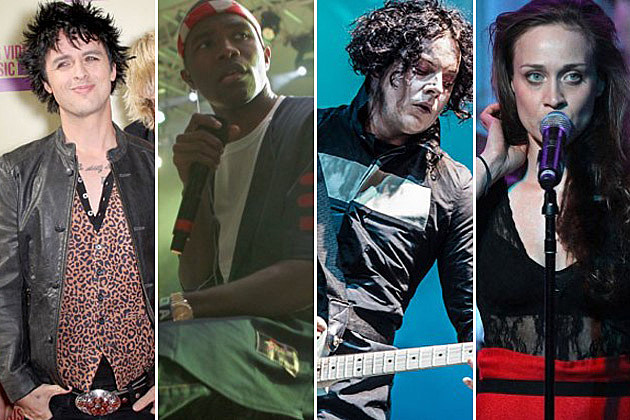 Green Day, Frank Ocean, Jack White, Fiona Apple