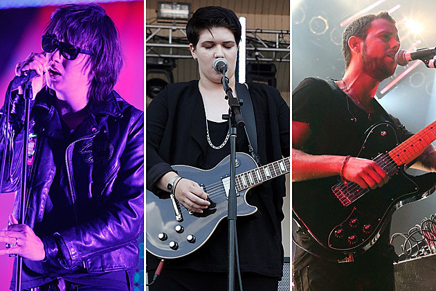 The Strokes, the xx, M83