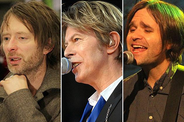 Thom Yorke, David Bowie, Ben Gibbard