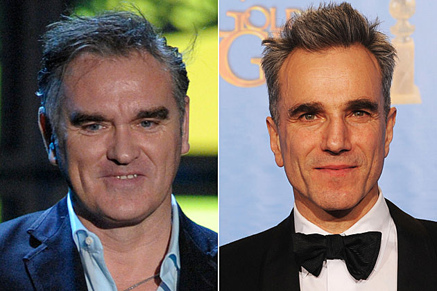 Morrissey and Daniel Day-Lewis