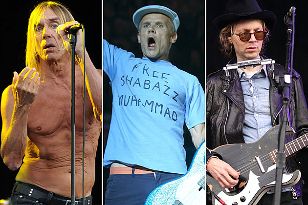 Iggy Pop, Flea, Beck