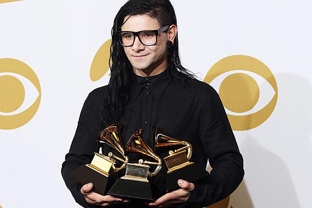 Skrilelx Grammys 2013