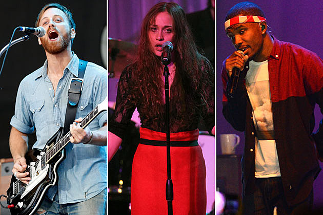 Black Keys Fiona Apple Frank Ocean