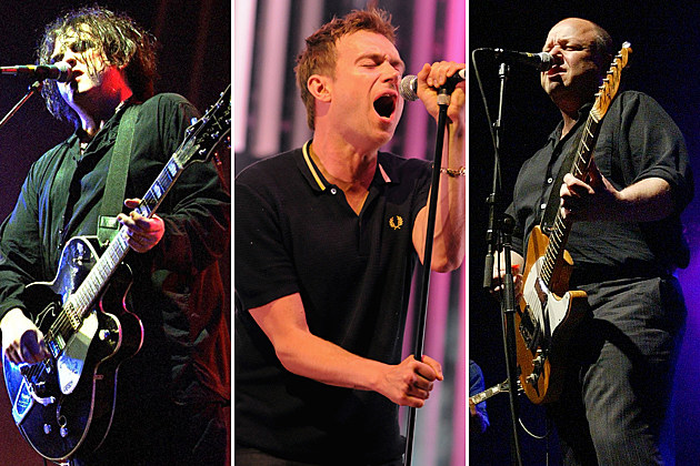 Robert Smith Damon Albarn Frank Black