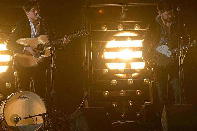 2013 Grammys Mumford And Sons Perform I Will Wait
