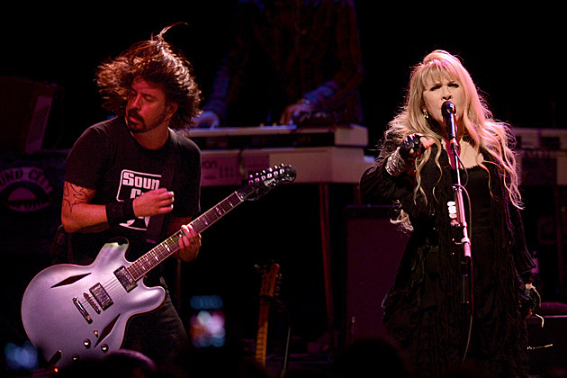 Dave Grohl Stevie Nicks