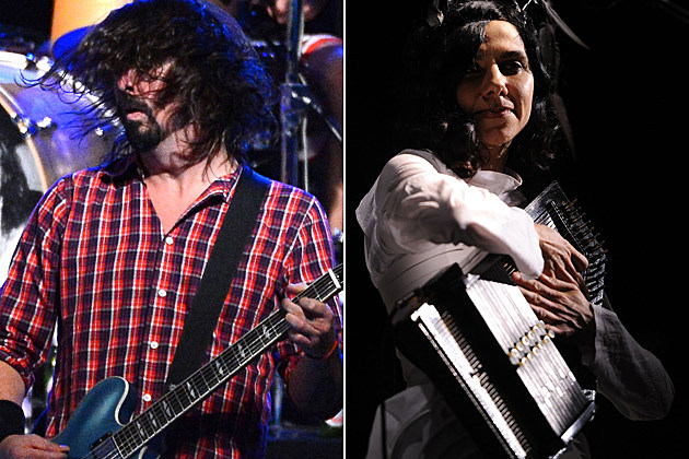 Dave Grohl PJ Harvey