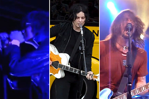 Julian Casablancas Jack White Dave Grohl