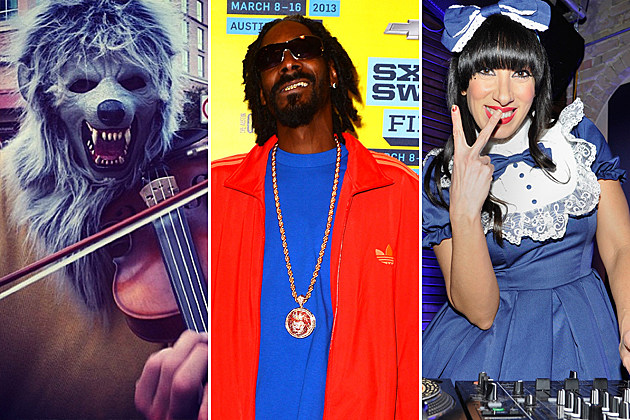 Violin Monster Snoop Lion Lady Starlight
