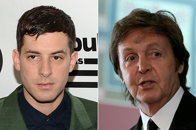 Mark Ronson Paul McCartney