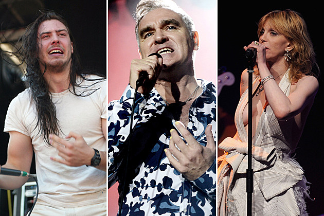 Andrew WK, Morrissey, Courtney Love