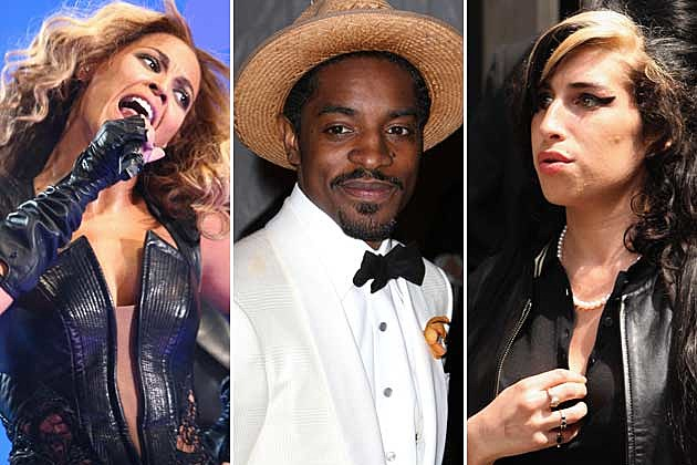 Beyonce, Andre 3000, Amy Winehouse