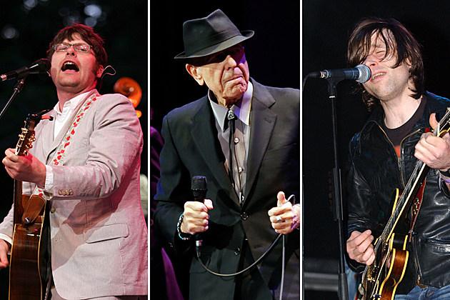 Colin Meloy, Leonard Cohen, Ryan Adams