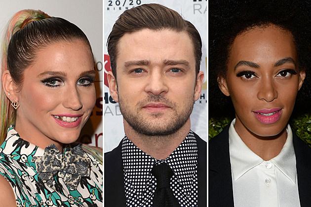 Kesha Justin Timberlake Solange