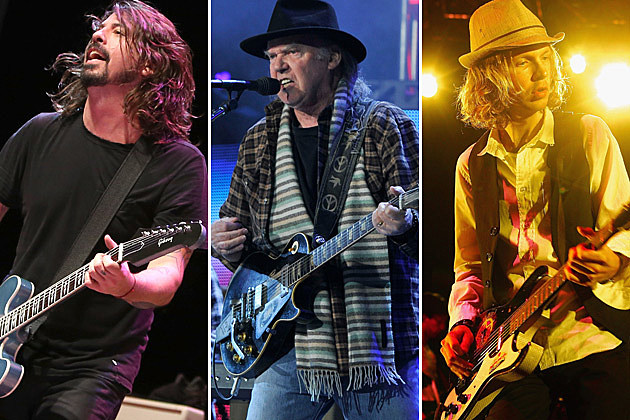 Dave Grohl Neil Young Beck