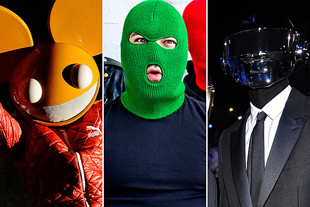 Deadmau5 Masked Intruder Daft Punk