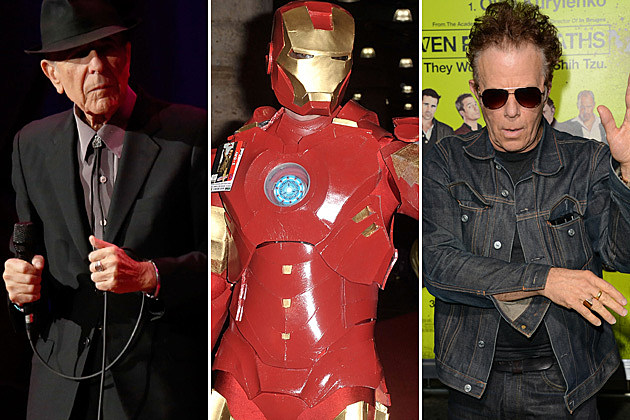 Leonard Cohen Iron Man Tom Waits