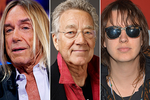 Julian Casablancas Ray Manzarek Iggy Pop