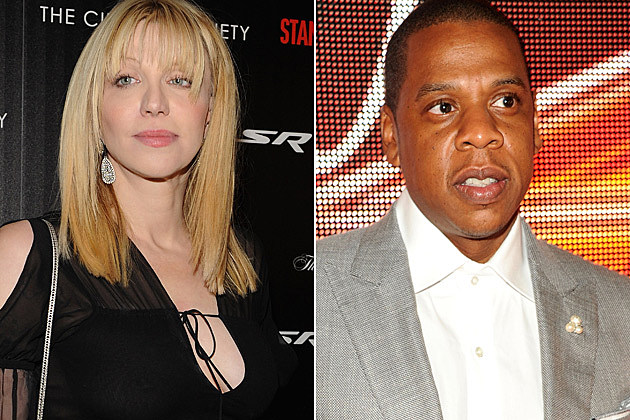 Courtney Love Jay-Z