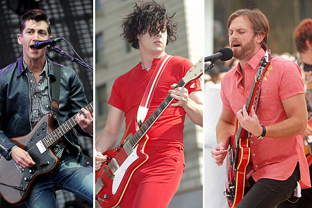 Alex Turner Jack White Caleb Followill