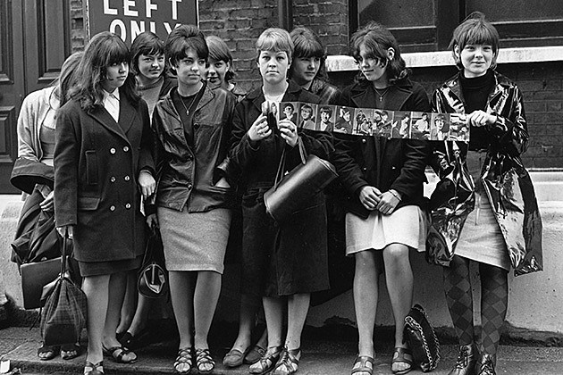 Female Rolling Stones fans, Evening Standard, Hulton Archive