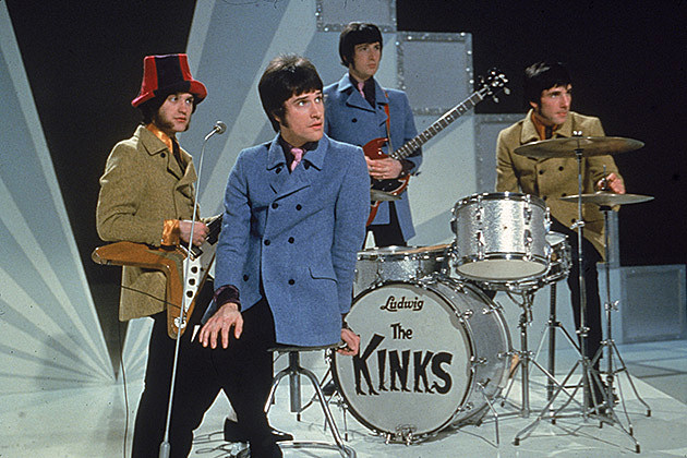 The Kinks by Hulton Archive
