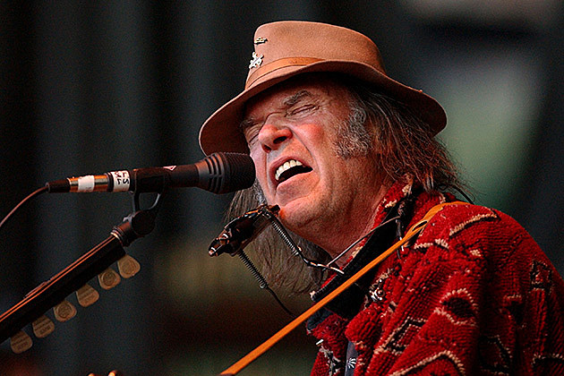 Neil Young, Justin Sullivan, Getty Images