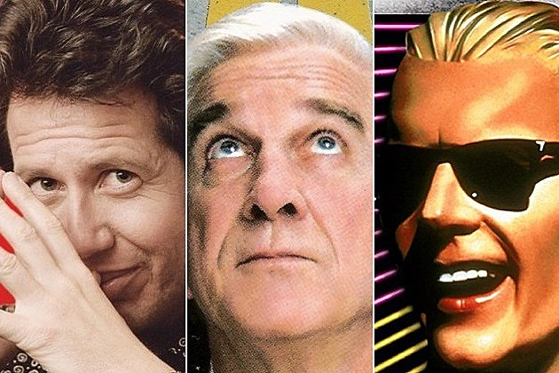 Garry Shandling Leslie Nielsen Max Headroom