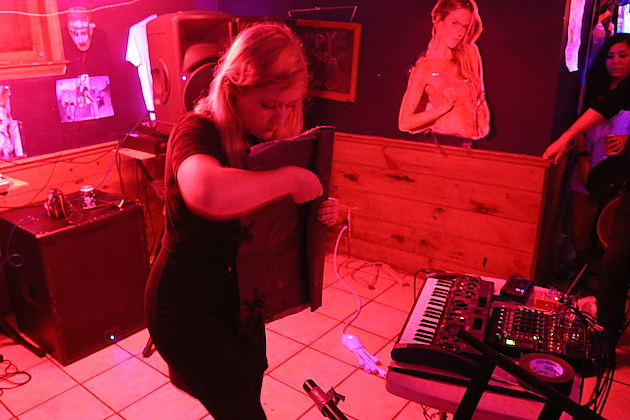 Pharmakon Live at Red Light in NYC - 5