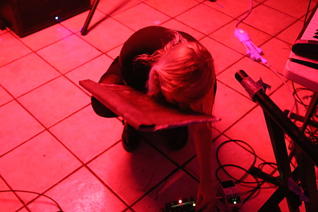 Pharmakon Live at Red Light in NYC - 4