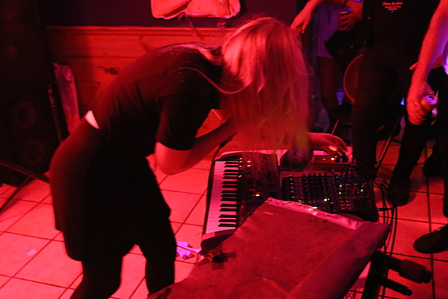 Pharmakon Live at Red Light in NYC - 3