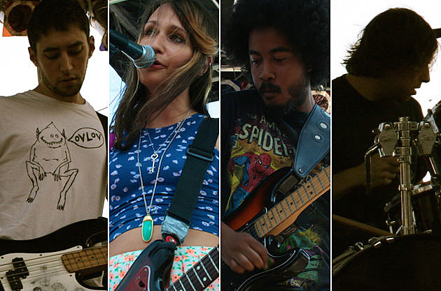 Speedy Ortiz Play Live at 4Knots 2014 in NYC