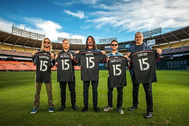 Foo Fighters Announce 20th Anniversary Gig In D C