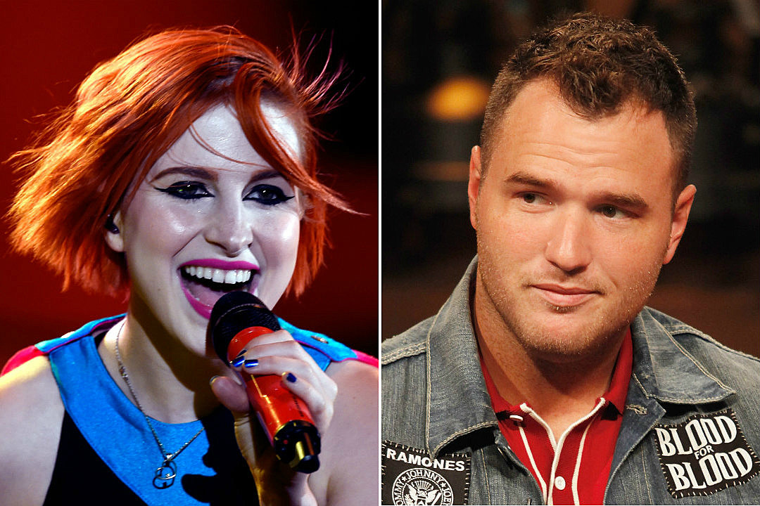 Watch Hayley Williams and Chad Gilbert Perform \'Blue Christmas\'