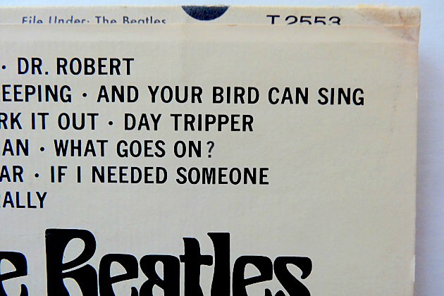 Beatles Butcher Cover, Detail