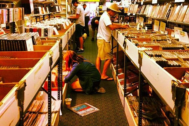 Shopping for Vinyl