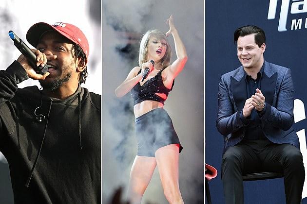 Kendrick Lamar, Taylor Swift, Jack White