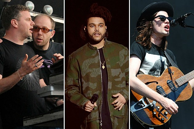 The Chemical Brothers / The Weeknd / James Bay