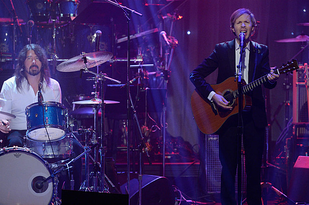 Dave Grohl and Beck