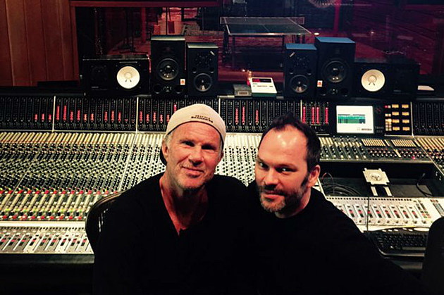 Chad Smith and Nigel Godrich
