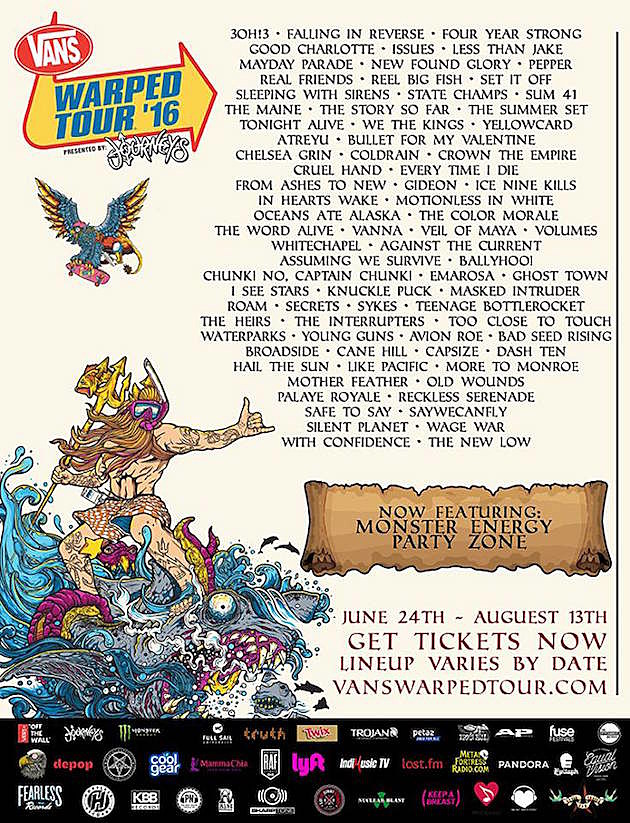 Rumored Bands For Warped Tour