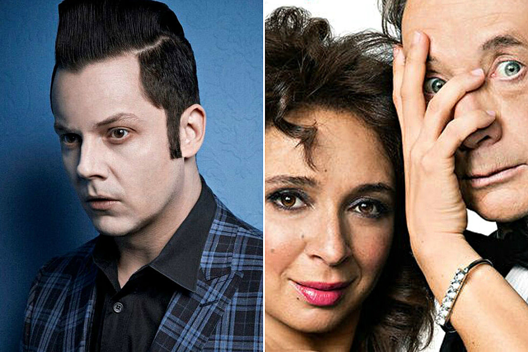 Listen to Jack White's Theme Song for NBC's New Variety Show 'Maya & Marty'