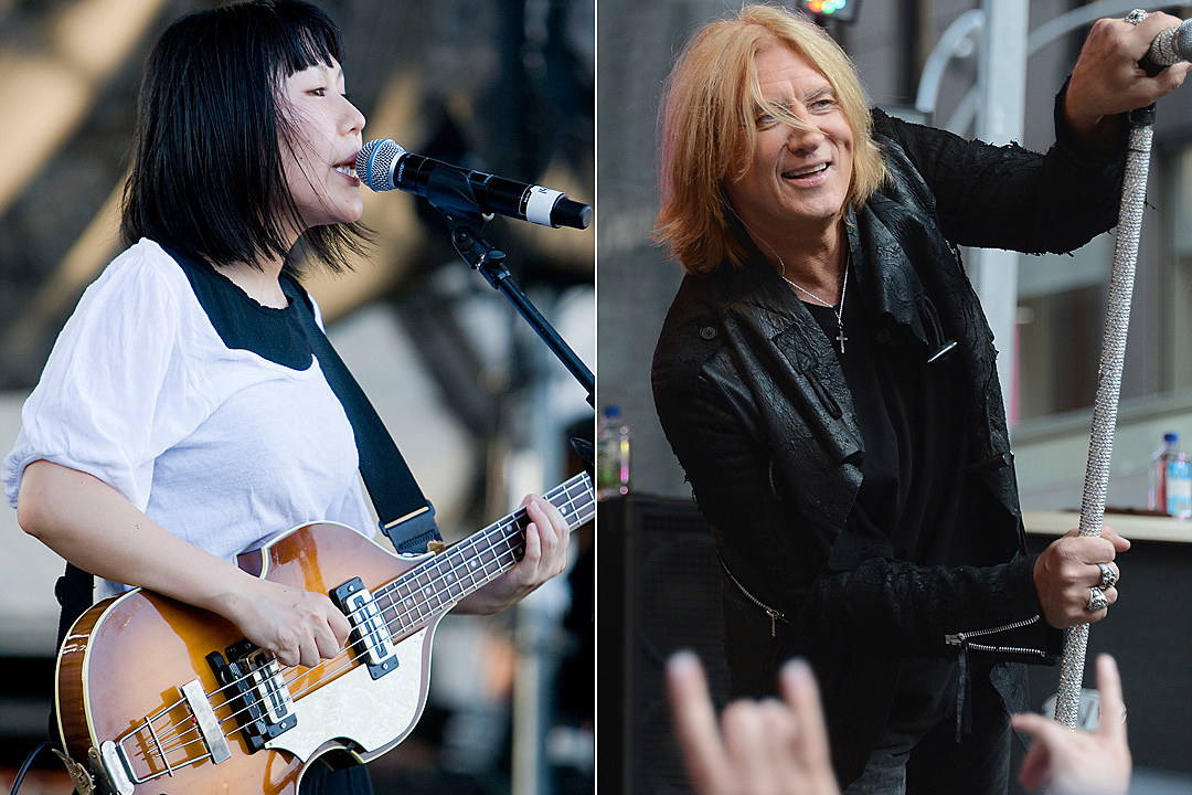 Watch Deerhoof's Cover of Def Leppard's 'Pour Some Sugar on Me'