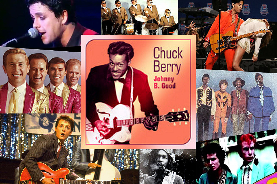 Chuck Berry Johnny B. Goode Covers
