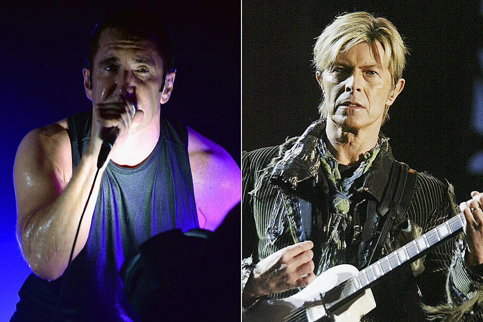Did Nine Inch Nails Release a David Bowie Cover Last Year?